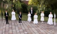 Erstkommunion Schondra mit Pfr. Armin Haas
