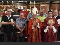 Erhard mit Bischof